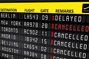 Possible flight disruption in Europe